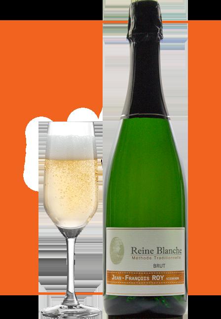 Bouteille-Méthode-Traditionnelle-Reine blanche-domaine-Jean-François-Roy-vigneron