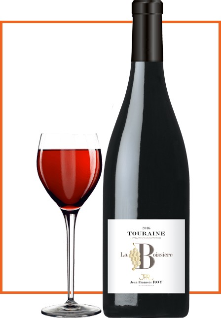 bouteille-de- vin-Touraine-cuvee-la-boissiere-domaine-Jean-François-Roy-vigneron
