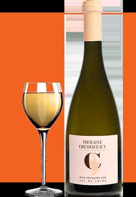 bouteille de vin-touraine-chenonceaux-domaine-Jean-François-Roy-vigneron