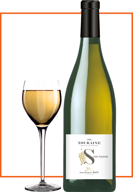 bouteille de vin touraine-sauvignon-domaine-Jean-François-Roy-vigneron